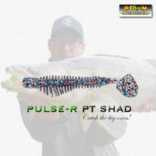 #120 BFISHN PULSE-R SHAD REINS Megabass Microjig Finesse Soft Scented Salty Lure