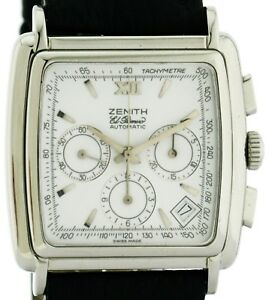 Zenith-El-Primero-Carre-Classik-Chronograph-Ref-90-01-0420-400-in-Stahl