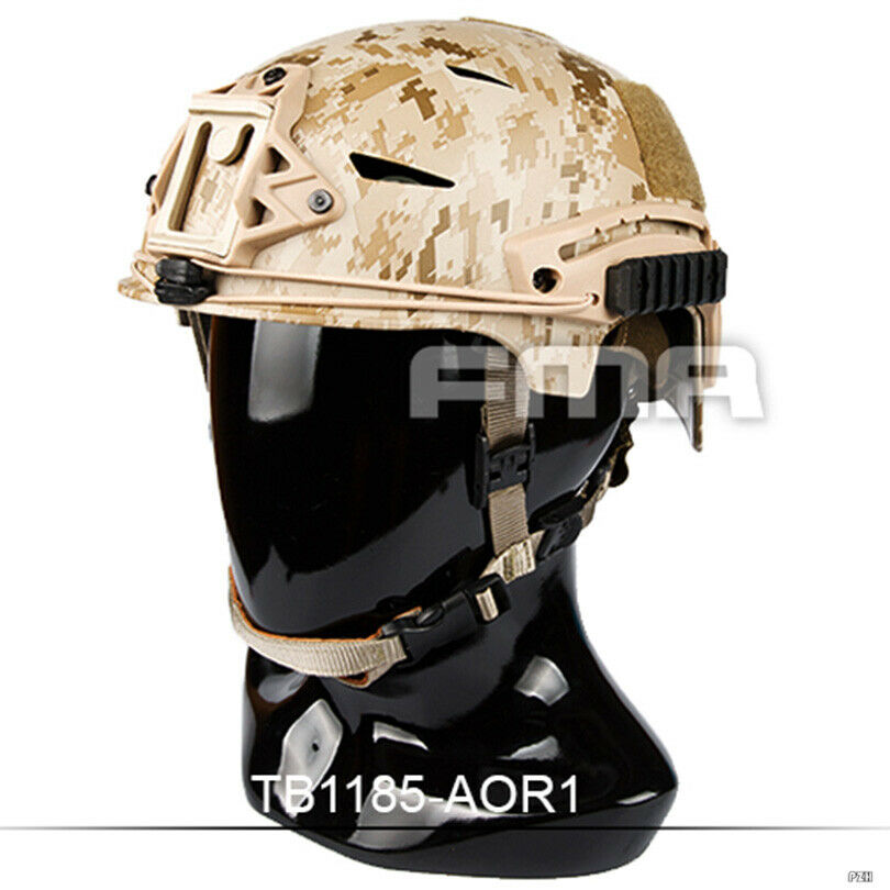 FMA Tactical Airsoft MIC EX BUMP Helmet Paintball M L TB1185-AOR1