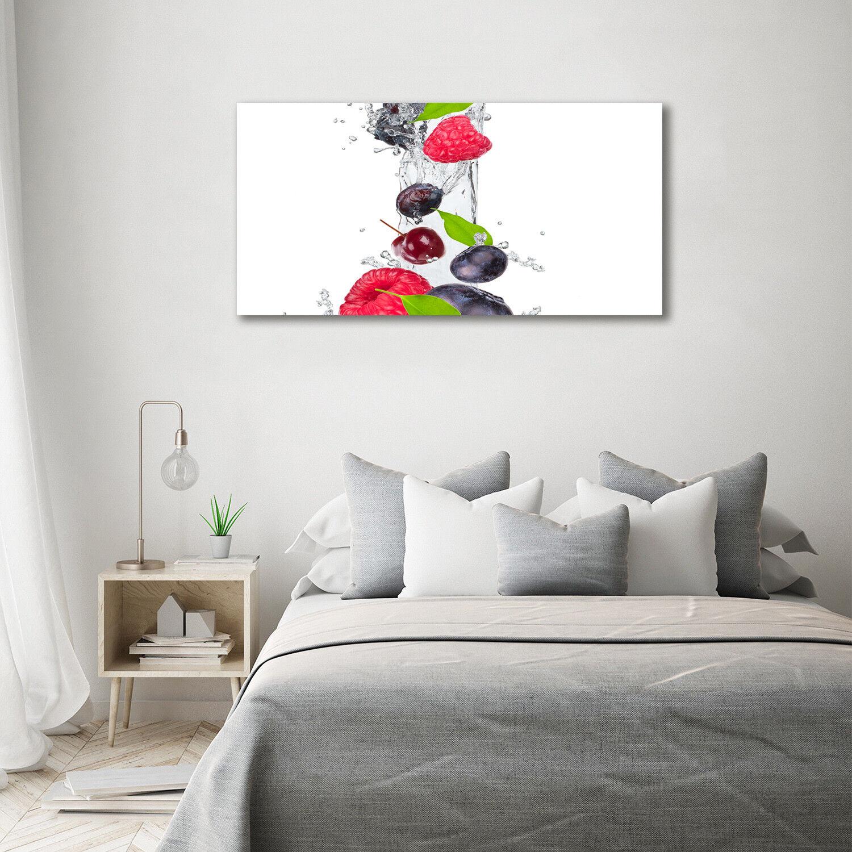 Vidrio impresión pantalla pa rojo  impresión Vidrio de arte en vidrio de 140 x 70 decoración de alimentos & bebidas agua de la fruta d62054