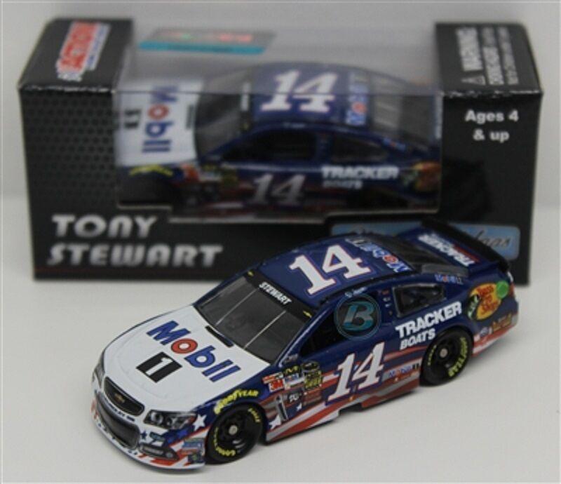 NASCAR  2014 TONY STEWART AMERICAN SALUTE MOBIL 1  1 64 DIECAST CAR