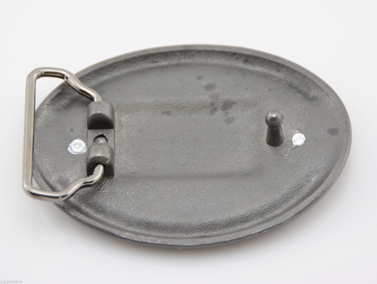 """Nickel Free Center Bar Single Prong Hexagon Belt Buckle 1 3//4/"""" 45 mm"""