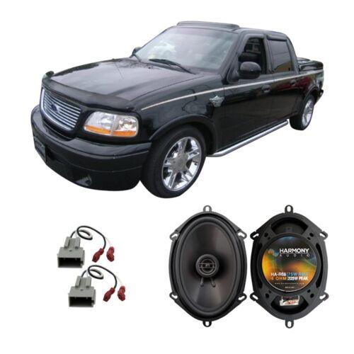 Fits Ford F-150 1997-2003 Rear Door Replacement Speaker Harmony HA-R68 Speakers
