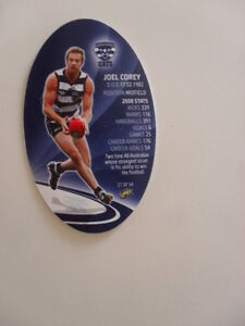 Geelong-Football-Club-Joel-Corey-The-Cats-2009-AFL-Footy-Kickers-Football-Card