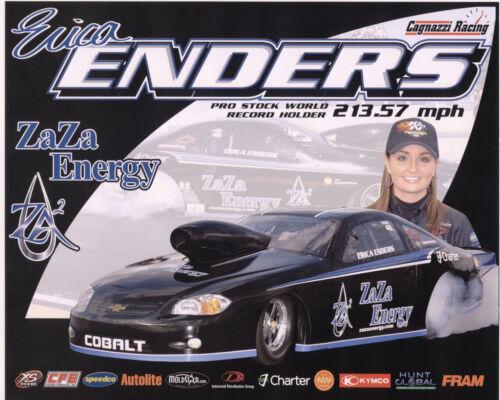 CAGNAZZI RACING POSTCARD 2ND VERSION!! 2011 ERICA ENDERS ZA ZA ENERGY