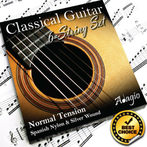 Half RRP! ADAGIO PRO The Finest Classical Guitar Strings Replacement Set