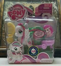 NIB My Little Pony FiM G4 ~Blossomforth~ Playful Single w/Pet & Accessories Lot