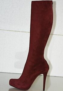 2419c59d68c6 Image is loading 1825-New-CHRISTIAN-LOUBOUTIN-Alta-Ariella-Burgundy-Suede-
