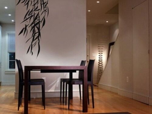 """Vinyl Wall Decal Sticker Hanging Bamboo Leaves 92/""""h x 42/""""w"""