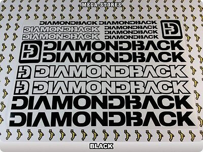 "DIAMONDBACK Stickers Decals Bicycles Bikes BMX MTB Cycles /""DIFFERENT COLORS/"" 57B"