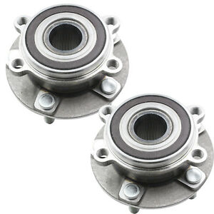 Pair(2) Front Wheel Hub & Bearing Assembly for 2014 2015 ...2014 Mazda 3 Wheel Stud