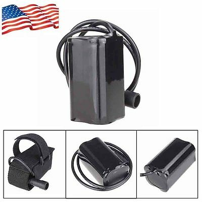 18650 5200mAh Rechargeable Battery Pack for Bike Bicycle Light Headlamp US Stock