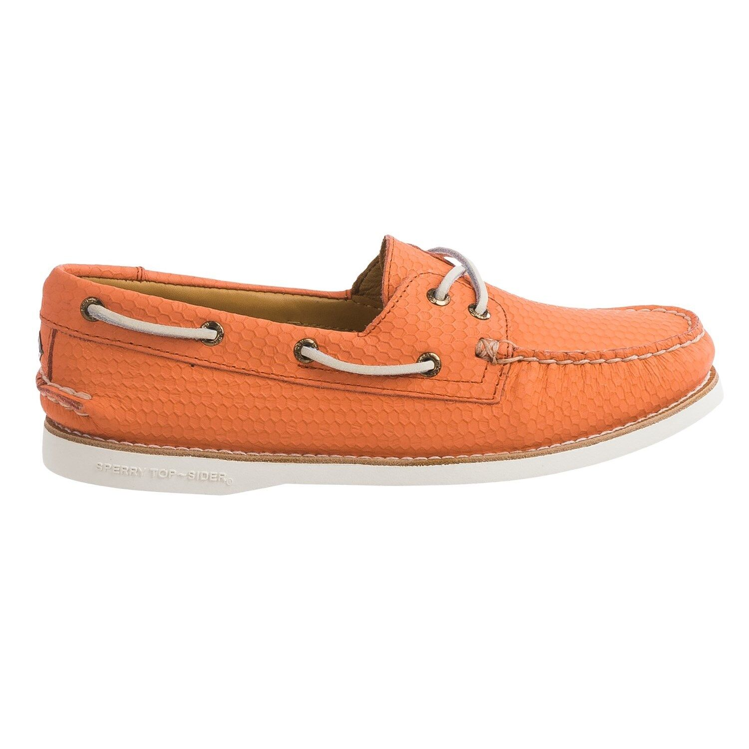 Sperry Donna Pelle Top-Sider Authentic Honeycomb Taglia 5 6 7 10 12