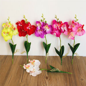 Am-1Pc-Artificial-Flower-Butterfly-Orchid-Home-Garden-Wedding-Party-Decor-Relia