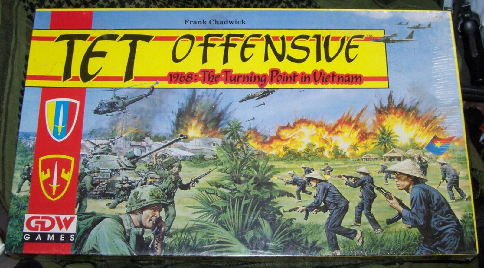 Tet Offensive 1968 Turning Point in Vietnam GDW Games 1991 encore en shrink
