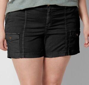 4d71440fe6e Image is loading Sonoma-Plus-Size-24W-Comfort-Waist-Cargo-Shorts-