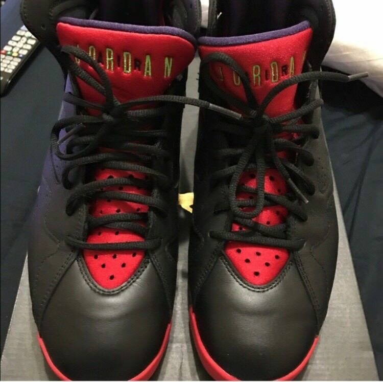 Retro Size 7 Black And Red Size Retro 10 4136db