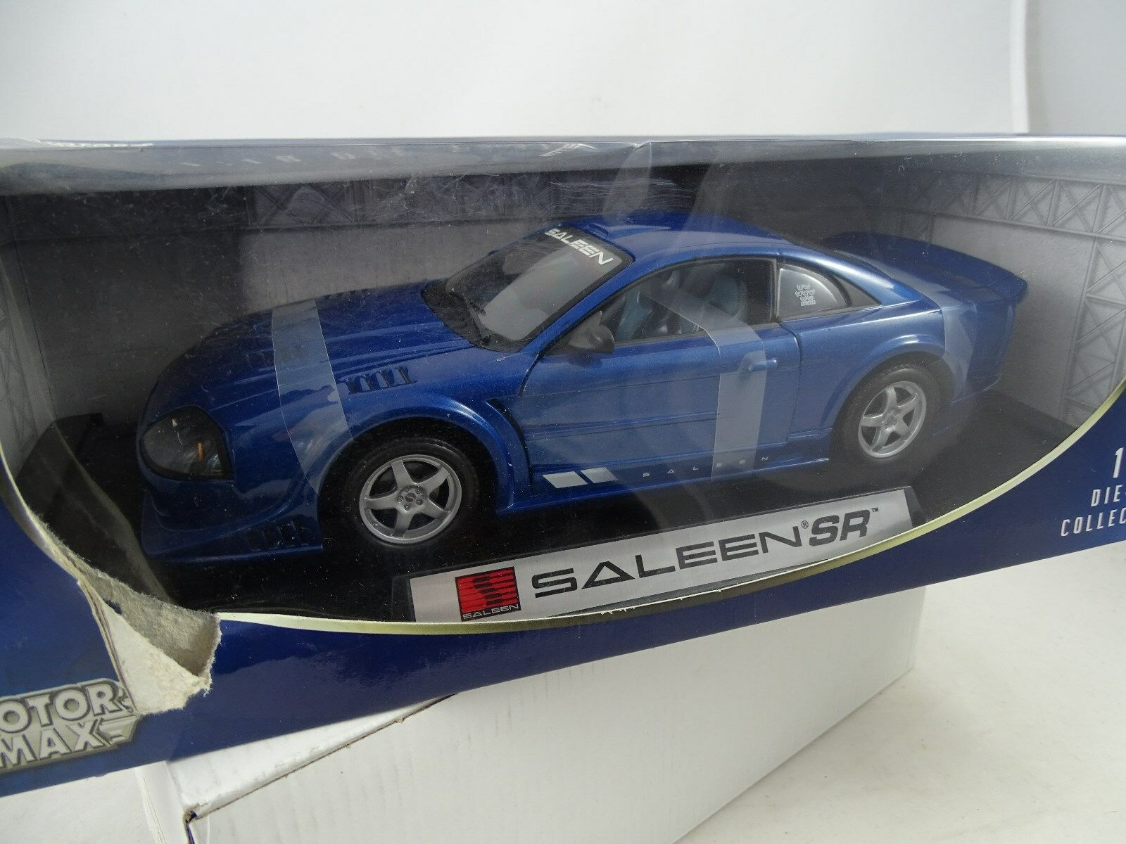 1 18 Motor Max  Saleen SR blau metallic  RARITÄT §