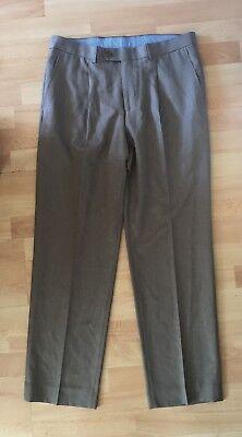 Competente Nuova Linea Uomo M&s Marks And Spencer Formali Lavoro Pantaloni Taglia 34w E 31l-mostra Il Titolo Originale Design Professionale