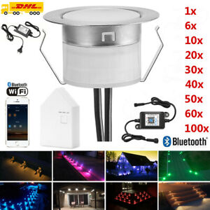 RGB//RGBW WIFI Controller LED Einbaustrahler Außenlampe Beleuchtung Terrasse Spot