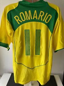Brazil Brasil Football Shirt Retro Classic ROMARIO 11 Nike Total 90 2004 XL