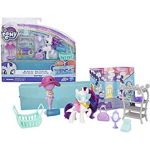 My Little Pony Rarity On The Go Fabulous nouvelle tenue Hasbro