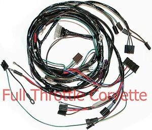 Details about 1964 1965 Corvette Small Block Engine Wiring Harness on