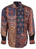 Robert Graham Classic Fit Hint Of Color Limited Edition Sport Shirt Large