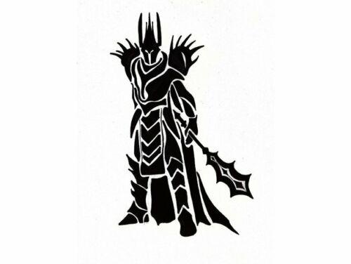 Señor de los anillos Sauron plantilla