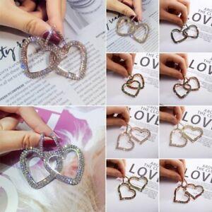 Fashion-Hollow-Heart-Women-Full-Crystal-Rhinestone-Earrings-Drop-Dangle-Jewelry