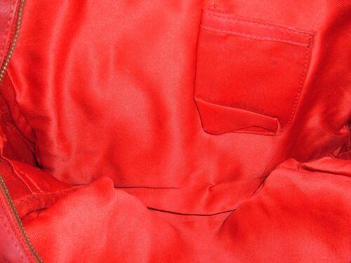 style véritable cuir sac rouge sans en Vintage Espagne marque Boho Fabriqué Grand en fqOwawU