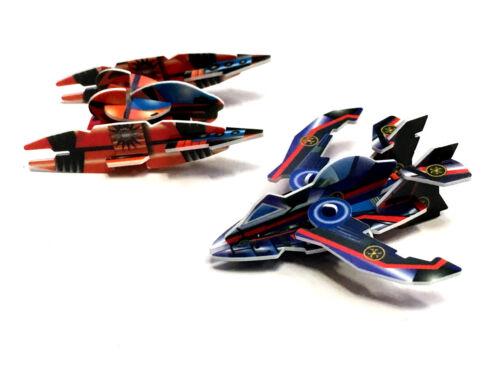 Confezione di 5 modelli 3D di carta TOY BOY Craft piano MOTO Natale Stocking Filler
