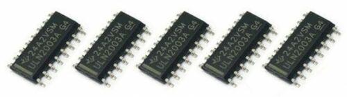 5 x ULN2003A SOP16 High-Voltage Current Darlington Transistor Arrays IC ULN2003