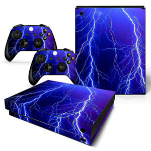 Video Games & Consoles Poker Skull Motiv Xbox One S Skin Design Foils Aufkleber Schutzfolie Set Video Game Accessories