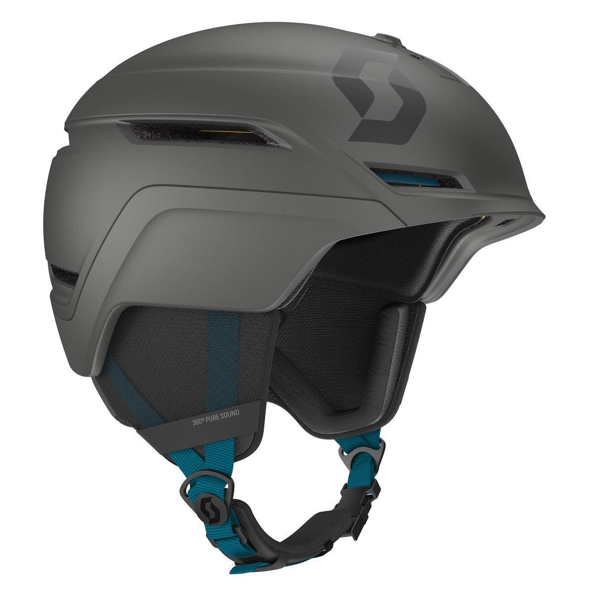 Scott SCO Symbol 2 Plus Helmet Iron Grey bluee S