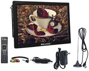 Portable-TV-Rechargeable-14-034-LED-Digital-Television-HDMI-VGA-MMC-FM-USB-SD-AC-DC