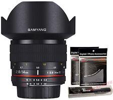 Samyang 14mm F2.8 ED AS UMC Ultra Wide Angle Lens for Pentax K DSLR + Free GIFT