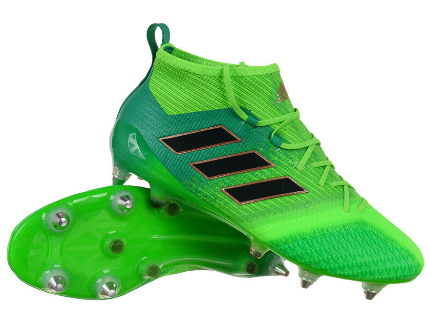 Men's adidas ACE 17.1 Primeknit SG Hybrid Hybrid Hybrid Soccer stivali Pro Natural Grass scarpe 07d507