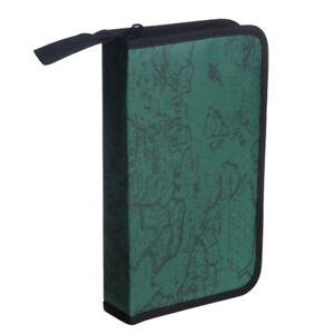 Green-World-Map-Pattern-CD-VCD-DVD-Discs-Storage-Case-PVC-Bag-N1S6