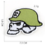 miniature 17 - PIRATE SKULL Embroidered Biker Patches Skeleton Iron / Sew on Badges Grim Reaper