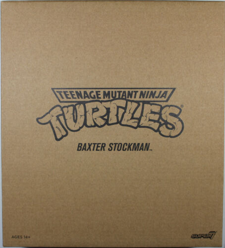 "Teenage Mutant Ninja Turtles ~ 7/"" ULTIMATE BAXTER STOCKMAN FIGURE ~ Super 7"