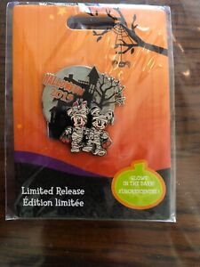 Disney-Mickey-amp-Minnie-Mouse-Halloween-Mummy-2019-pin-Glow-in-the-Dark-Limited