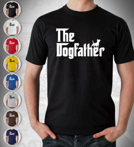 Jack Russell Terrier Dog Lover Gift T Shirt The Dogfather