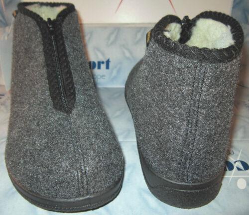 d'hiver 48 pure de pantoufles pantoufles maison chaude Puschen Bottes laine de 40 de feutre BnPxPgw