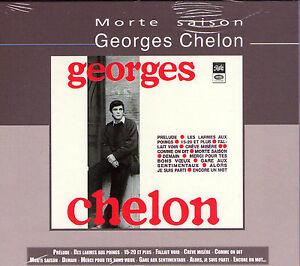 CD DIGIPACK GEORGES CHELON MORTE SAISON 18T DE 2001  NEUF SCELLE