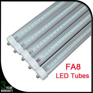 10PC-8FT-36W-6500K-LED-Light-FA8-Single-Pin-Fluorescent-Replacement-T8-Tube-Lamp