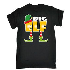 Funny-T-Shirt-Big-ELF-Anniversaire-Blague-Humour-Tee-Cadeau-Nouveaute-T-Shirt-T-Shirt
