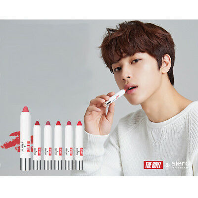 THE BOYZ x SIERO Cosmetic Collaboration Special Lip Crayon Limited Edition Set