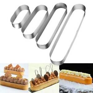 Mini-Edelstahl-ovale-Kuchen-Mousse-Mould-Metall-Backform