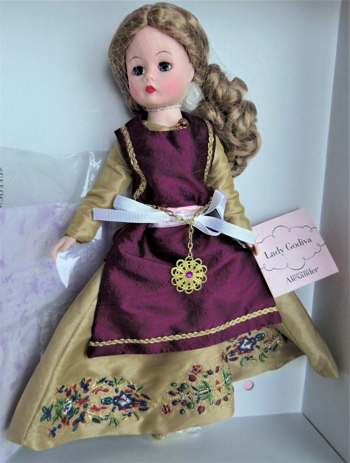 Madame Alexander LADY GODIVA 10  Portrette Doll MIB 40835 LE 750 pc. 2007